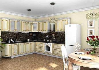 Кухня Платинум 2.0 м поелементно Гарант / Кухонный гарнитур Платинум Garant NV
