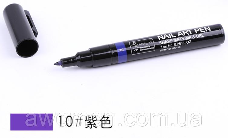 Ручка для дизайна ногтей Nail Art Pen  № 10