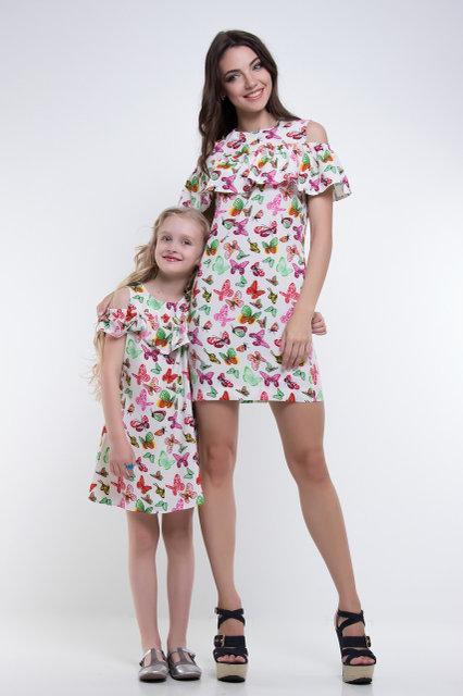 1eeb8ffab0d Красивые летние платья мама-дочка  продажа