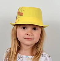 Шляпа на девочку с рисунком