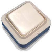 Выключатель одноклавишный наружный А16-У01