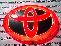 Эмблема тойота, светящаяся задняя эмблема Toyota | Тойота 4D