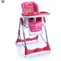 Стульчик для кормления Baby point Pinta, красный , фото 1