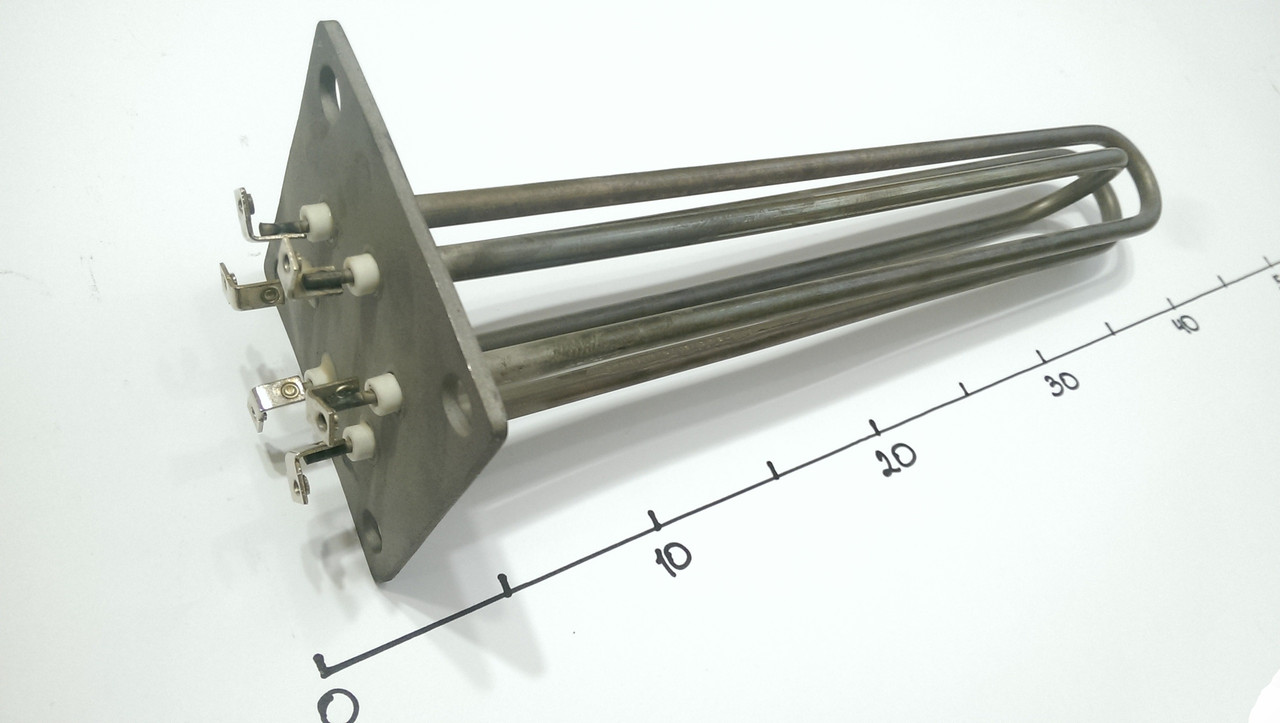 Блок ТЭНов 4500w на фланце 100×100 Электрон-Т (Украина)