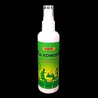 """Спрей-репелент защищающий """"От комаров"""" для всей семьи 100 мл."""