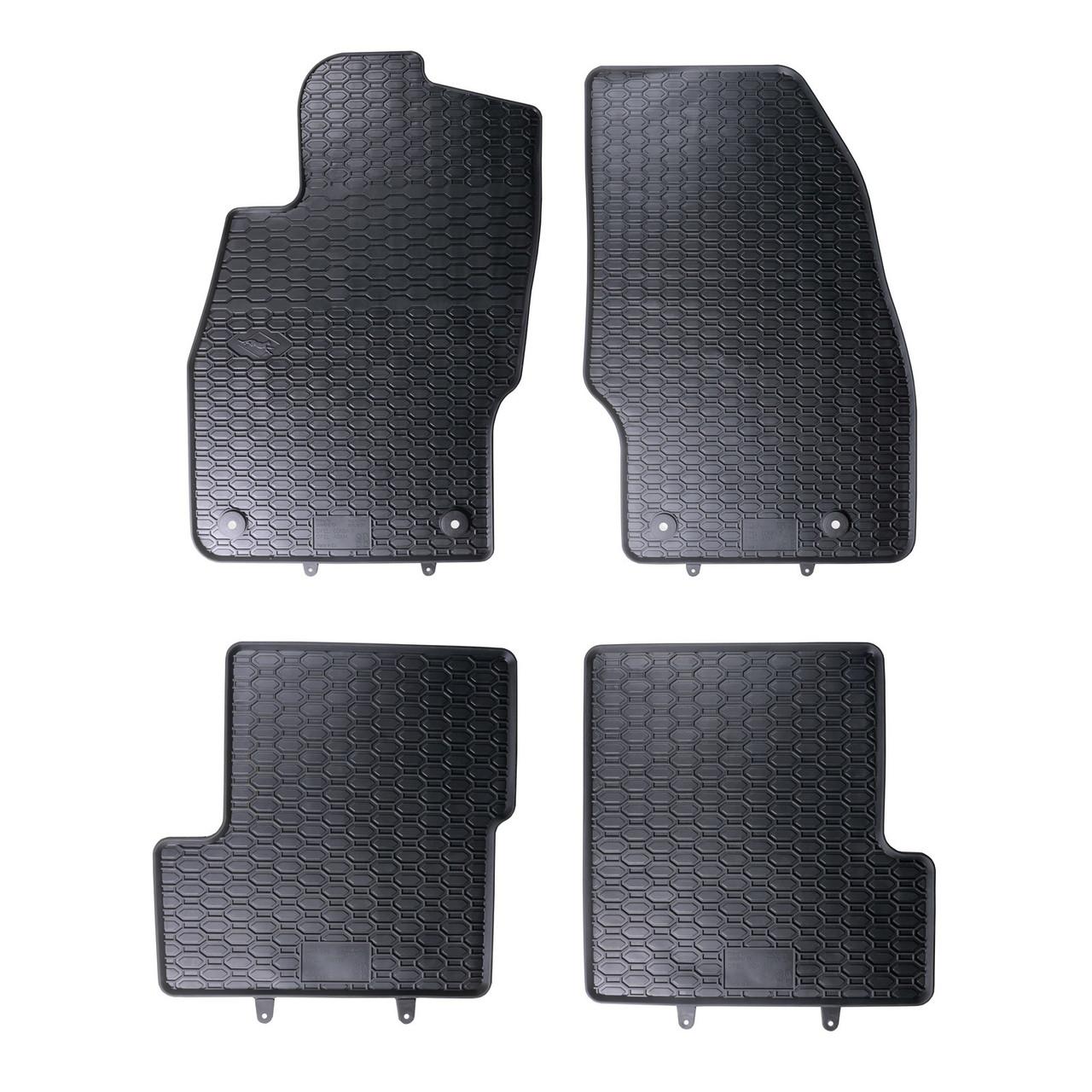 Килимки в салон для Opel CORSA D (06-) / CORSA E (14-) (4шт) 802/4C