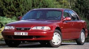 Накладки на панель Hyundai Sonata (1993+)