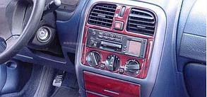 Накладки на панель Hyundai Sonata (1993-1996)