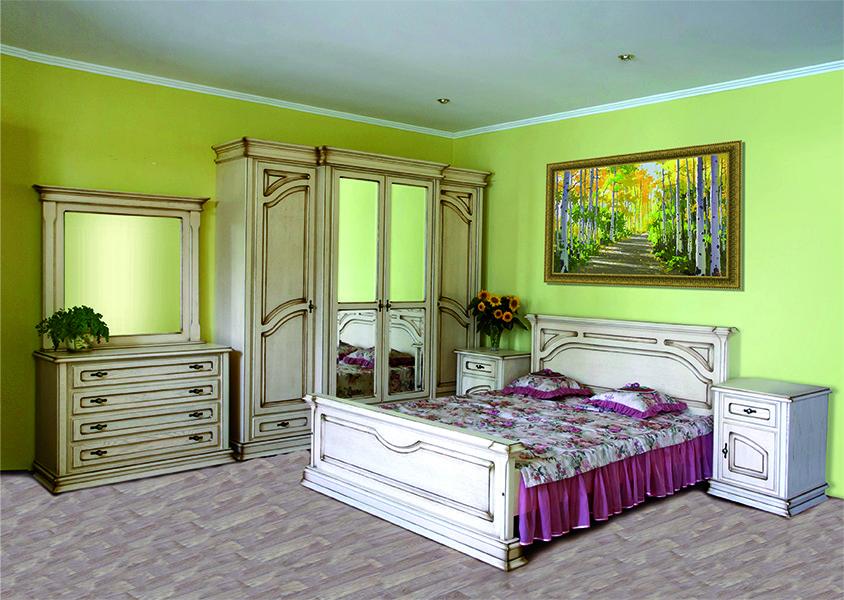 Спальня Роксолана ЮрВит (комплект)