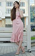 """Платье рубашка """"шелк джули"""" , фото 1"""