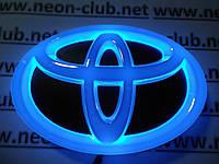 Светящаяся задняя эмблема Toyota | Тойота 4D