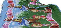 """Детское одеяло 110х140 аэрофайбер поликоттон  ТМ """"Чарiвний сон"""" Украина"""