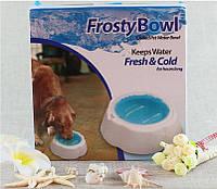 Охлаждающая миска для домашних животных Frosty Bowl доставка  по  всей  Украине