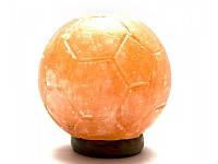 """Соляная лампа (S-031) """"Футбольный мяч"""" 3,1кг., (12х10,5х10,5 см) ( 26182)"""