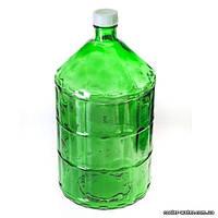 Бутыль для вина или воды стеклянный 22л