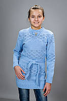 Детская вязанная туника, фото 1