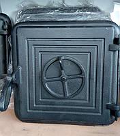 Чугунная каминная дверца