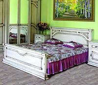 Спальня Роксолана ЮрВит (комплект) кровать 1.6