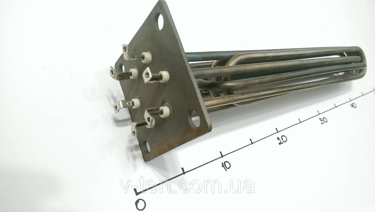 Блок ТЭНов 12000w на фланце 100×100 Электрон-Т (Украина)