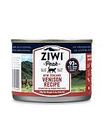 Ziwi Peak Moist Venison For Cats – влажный консервированный корм для кошек  - Оленина (185г)