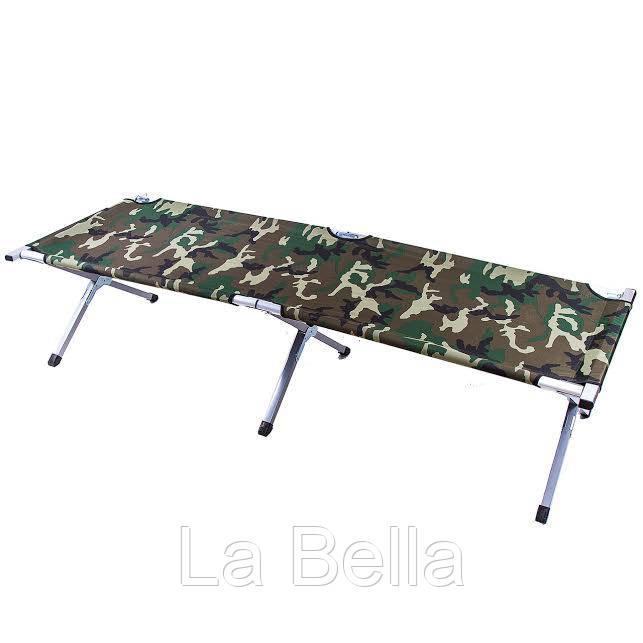 Туристическая складная раскладушка Military Folding Camping