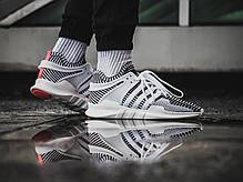 Мужские кроссовки Adidas EQT Support ADV Zebra BA7496, Адидас ЕКТ, фото 3
