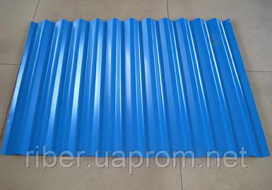 Профнастил ПС 8 - 0,40мм 1200х1800, цвет синий