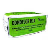Домофлор Мікс торфяний субстрат фракція 0-5 мм 250 л
