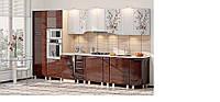 Кухня Хай-Тек 162-165, поелементно Комфорт Мебель / Кухня Hi-Tech 162-165, поэлементно Комфорт Мебель