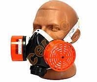 Респиратор газопылезащитный РУ-60М аналог ТОПОЛЬ А1Р1 респіратор газопилезахисний для покраски