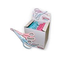 Ножницы  Kartopu для шитья и хобби 210мм розовые