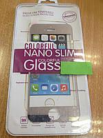Защитное стекло 3D для iPhone 5/5s ультратонкое