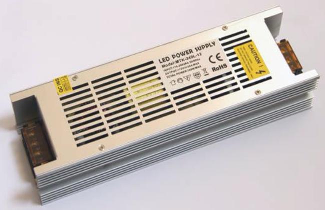 Негерметичный блок питания LONG 12V 240W 20A