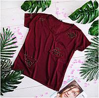 Модные женские футболки 1208(разные)