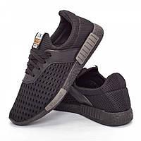 Мужские кроссовки черные (Код: DRM-304)