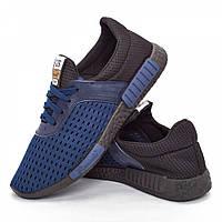 Мужские кроссовки синие (Код: DRM-304)