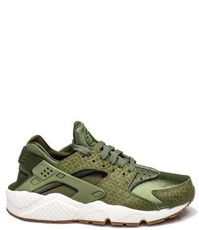 Женские кроссовки  Nike Wmns Air Huarache Run Premium - Palm Green