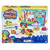 Игровой набор с тестом для лепки Магазинчик домашних питомцев Play Doh Town Hasbro