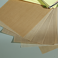Лакоткань с клеящим слоем ЛКМ, ЛСМ, ЛСК толщина 0.8мм ширина 1000мм