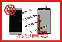 Тачскрин+матрица LENOVO S60 S60W БЕЛЫЙ ОРИГИНАЛ