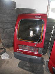 Дверь задняя левая бордовая на Renault Kangoo