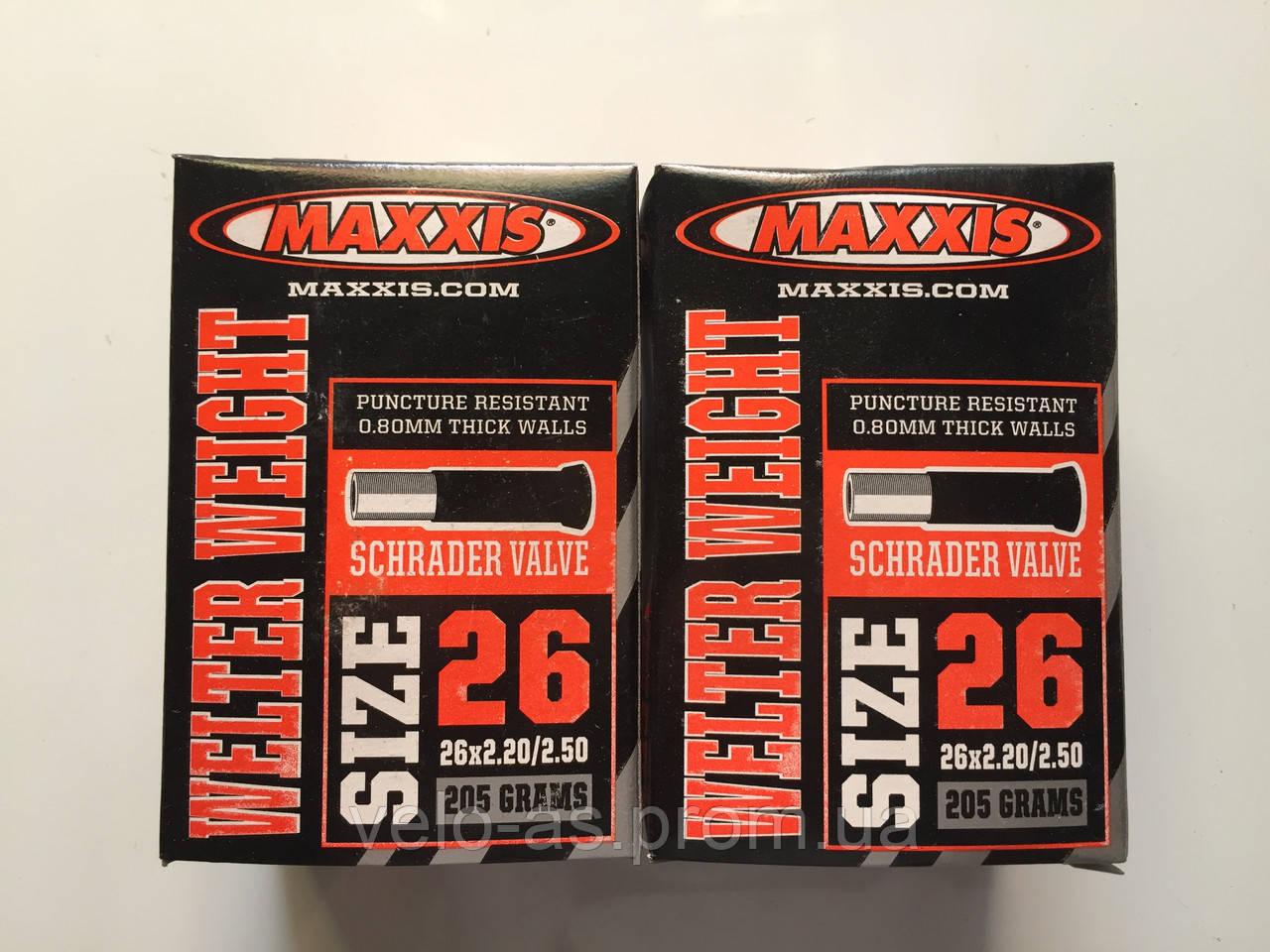 Камера Maxxis 26x2.20/2.50 A/V  оригинал 205 gr