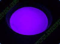 Фиолетовый светящийся порошок - люминофор ТАТ 33, фото 1
