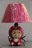 Настільна лампа Sirius GH-7723 рожева