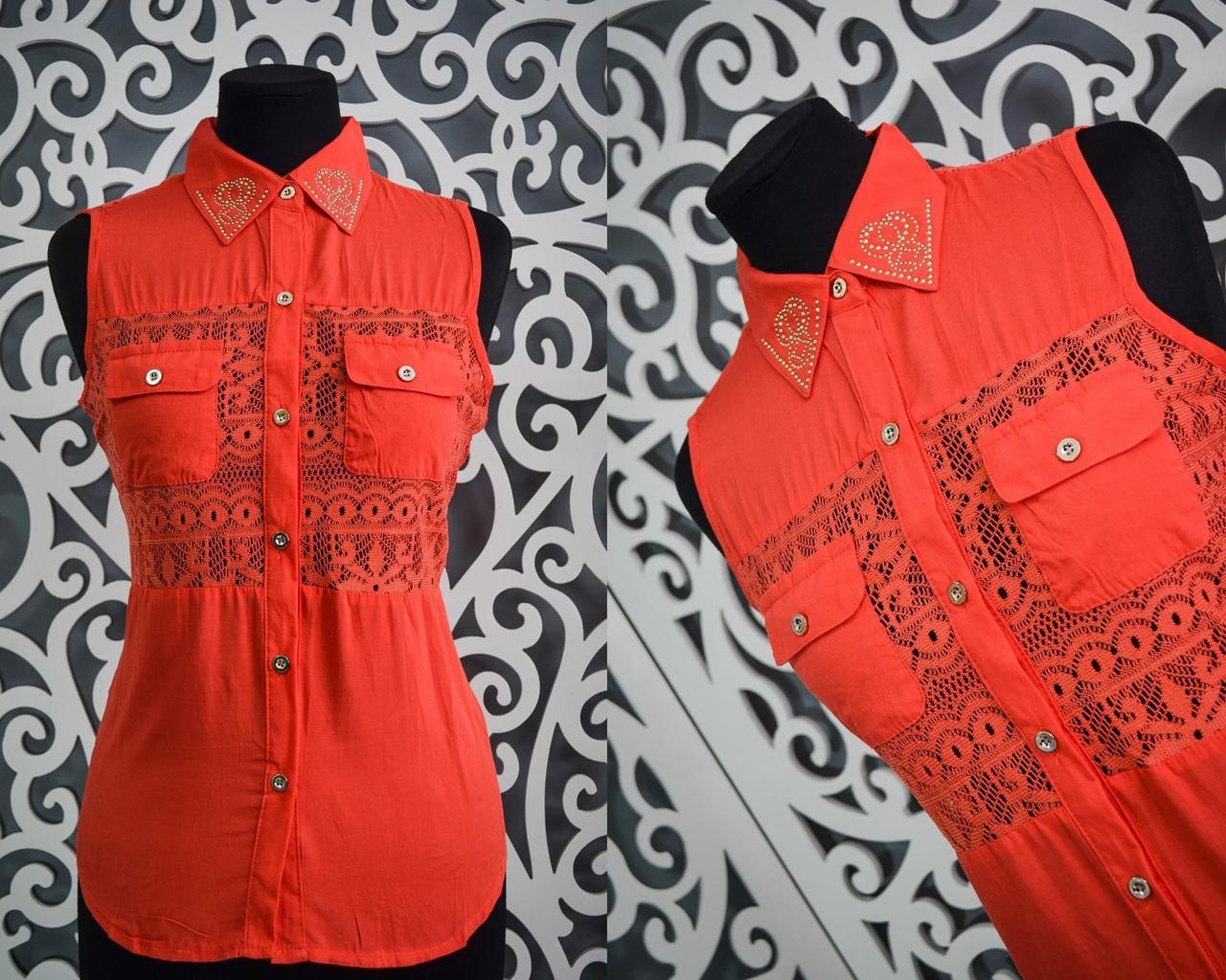 Милые женские блузки с открытыми плечами 44, 46, 48 размер норма