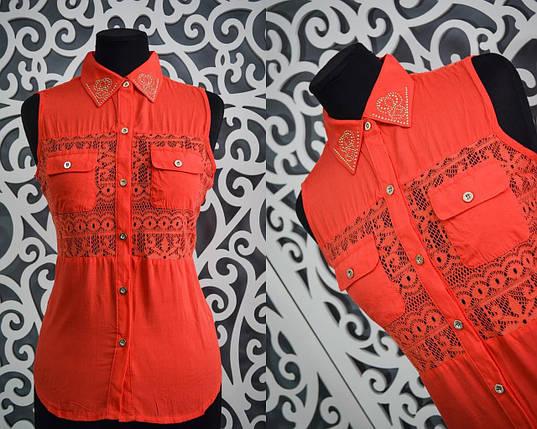 Милые женские блузки с открытыми плечами 44, 46, 48 размер норма, фото 2