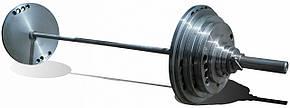 Штанга олимпийская для тяжелой атлетики 100 кг. D50мм. L2200мм. Экономный вариант.