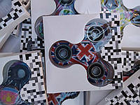 Игрушка Антисресс Английский флаг Fidget Spinner (Хенд Спиннер)