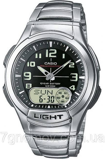 Часы наручные мужские CASIO Standard Combi арт. AQ-180WD-1BVEF