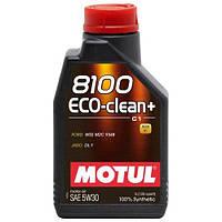 Motul 8100 ECO-CLEAN+ 5W-30 - синтетическое моторное масло - 1 л.
